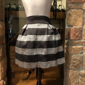 FSR Skirts - Black and silver bubble party skirt